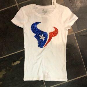 51e7f878 Houston Texans BLING top Boutique